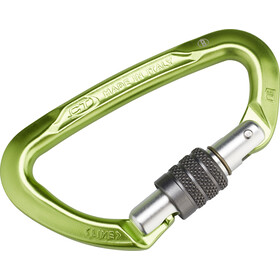Climbing Technology Lime SG Karabiner green/grey